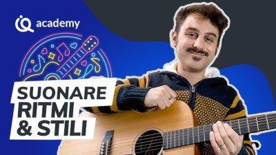 IMPARAQUI Alessio Puccinelli insegnante di musica corso chitarra ritmica Xavier