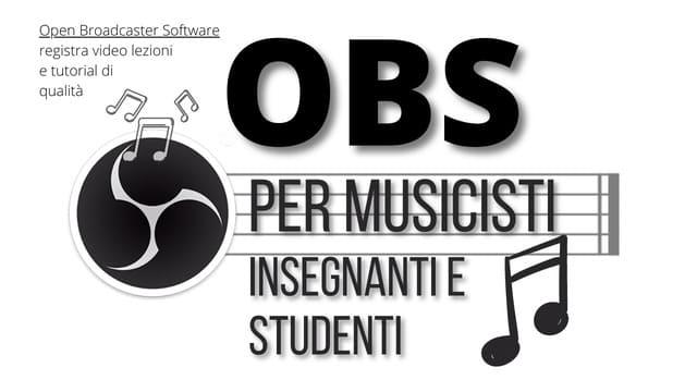 Alessio P. insegnante di musica corso OBS per musicisti